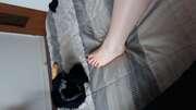 Photos des pieds de Joliepied, pieds