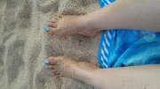 Photos des pieds de Cici, mes pieds