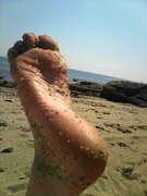 Photos des pieds de Annika, premiers pas...