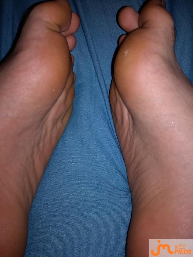 Photo des pieds de Pedro leche pied