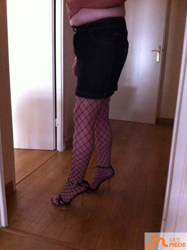 Photo des pieds de Cecile77