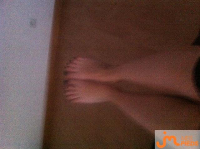 Photo des pieds de Chups