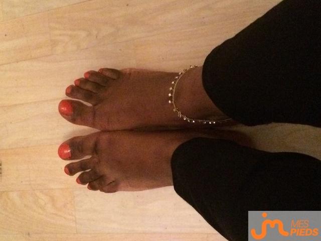 Photo des pieds de Samantha972