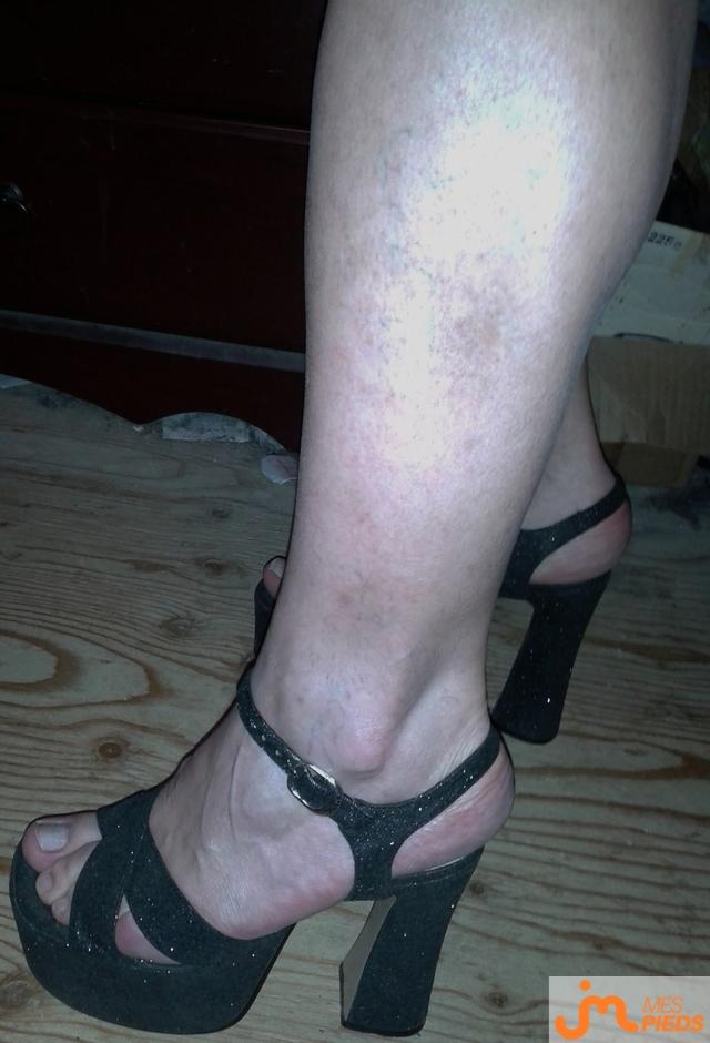 Photo des pieds de Clochette