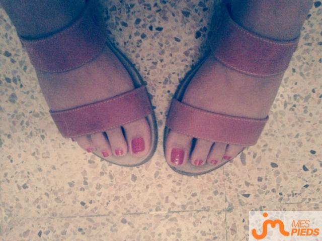 Photo des pieds de Dreadnut