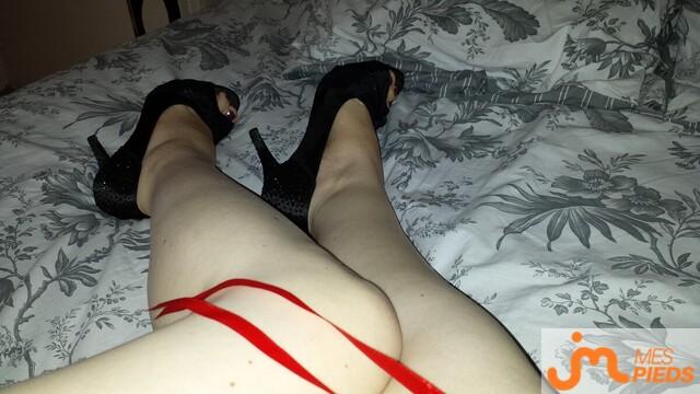 Photo des pieds de Mignon-poussin