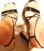 Photos des pieds de Laurence311, Talons