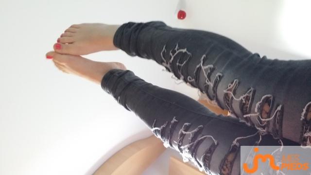 Photo des pieds de Hakuba