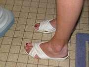 Photos des pieds de Virgin44,  jolis petons
