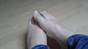 Photos des pieds de La fille, mes pieds