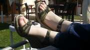 Photos des pieds de Atm77, Jolie pied de ma femme