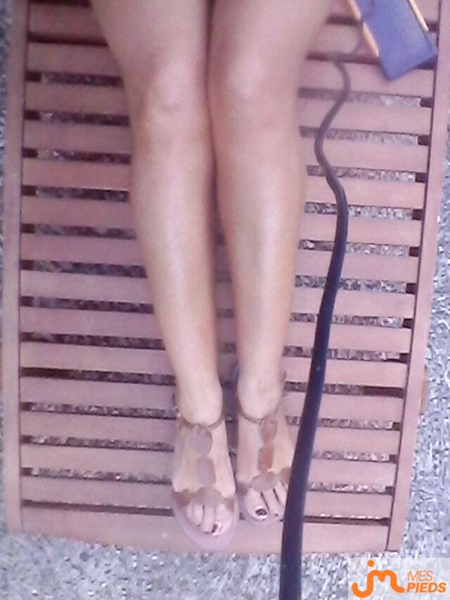 Photo des pieds de Poussinette