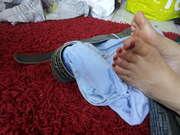 Photos des pieds de Platon, Les pieds d'une amie