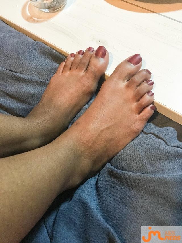 Photo des pieds de Pied974