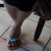 Photos des pieds de Platon, Une mature aux pieds délicieux