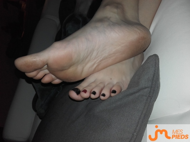 Photo des pieds de Dimetdelf