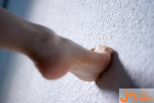 Photo des pieds de Ouispilon