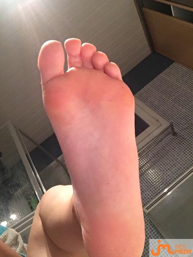 Photo des pieds de Jossclaas