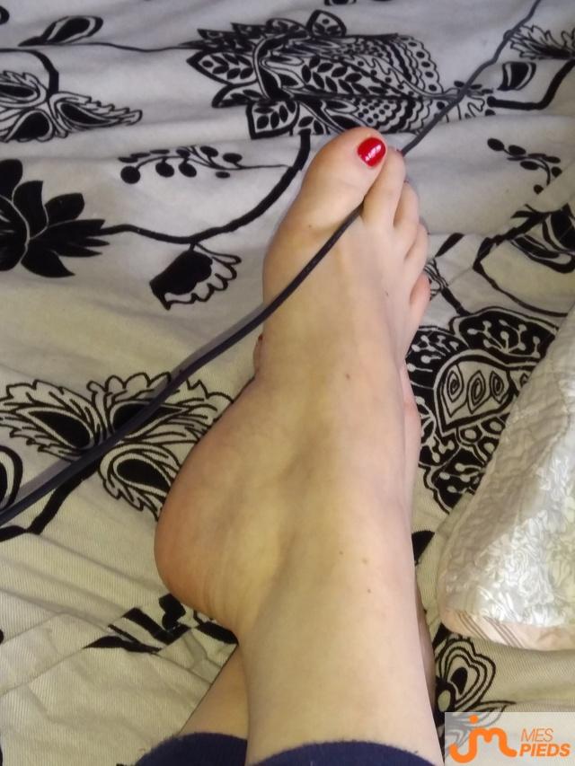 Photo des pieds de Pulpe6869