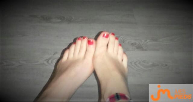 Photo des pieds de Buterfly