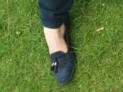 Photos des pieds de Feet02, Mes ballerines