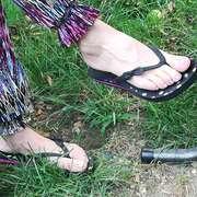 Photos des pieds de Oksako, Pieds