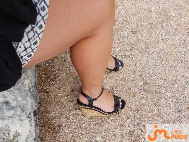 Photo des pieds de Ptitelola