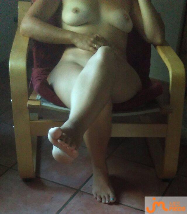 Photo des pieds de Lapetitefetish