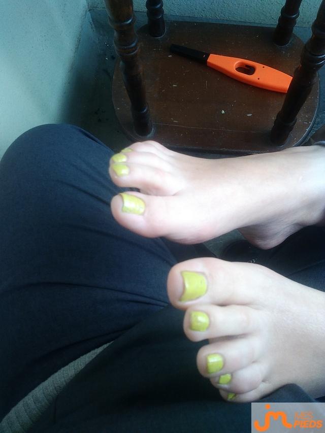 Photo des pieds de Jessicafeet