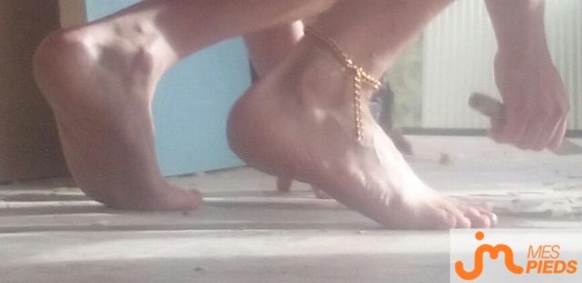 Photo des pieds de Manumaa