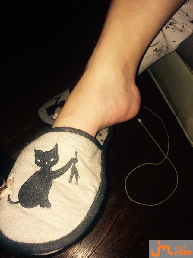Photo des pieds de Kittyfeet