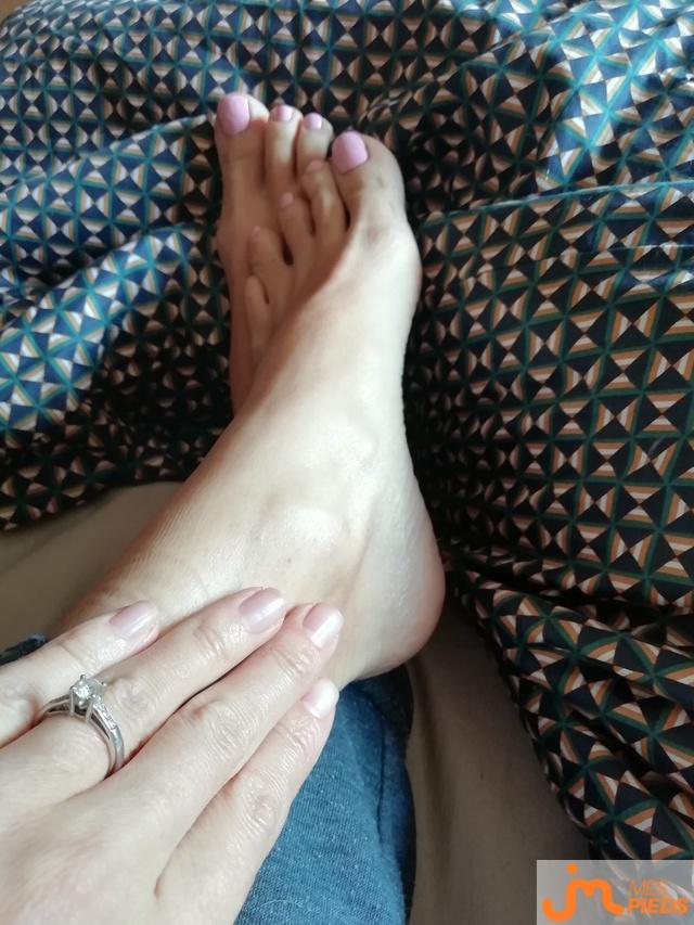 Photo des pieds de Labia