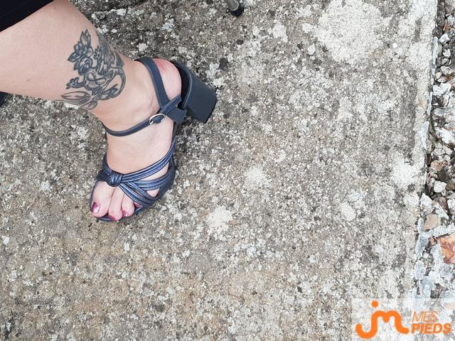 Photo des pieds de Man2818