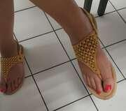 Photos des pieds de Topex, Pied d'une collègue