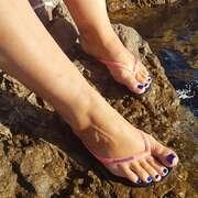 Photos des pieds de Anaysetorka, LA VIE EN BLEU POUR MES PIEDS