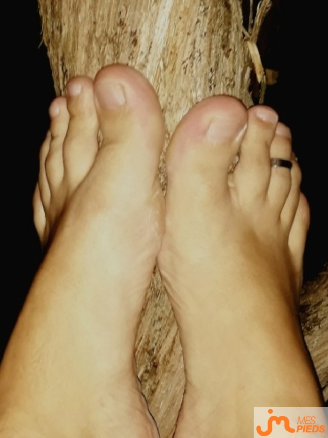 Photo des pieds de Haldo