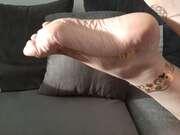 Photos des pieds de Lorraine5400, Ma femme