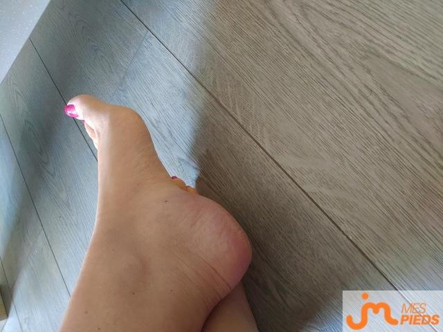 Photo des pieds de Kylianl