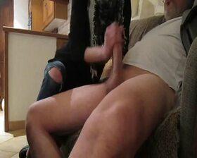 Videos des pieds de Lovenylon, branlette